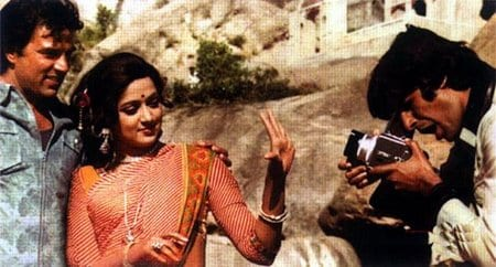 sholay behind the scenes pics 2887