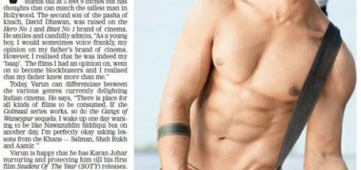 I'm a Bathroom Actor – Varun Dhawan