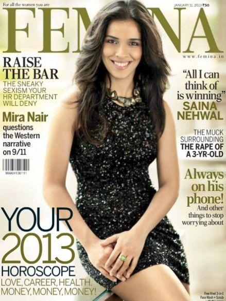 Sania Nehwal on Femina Magazine