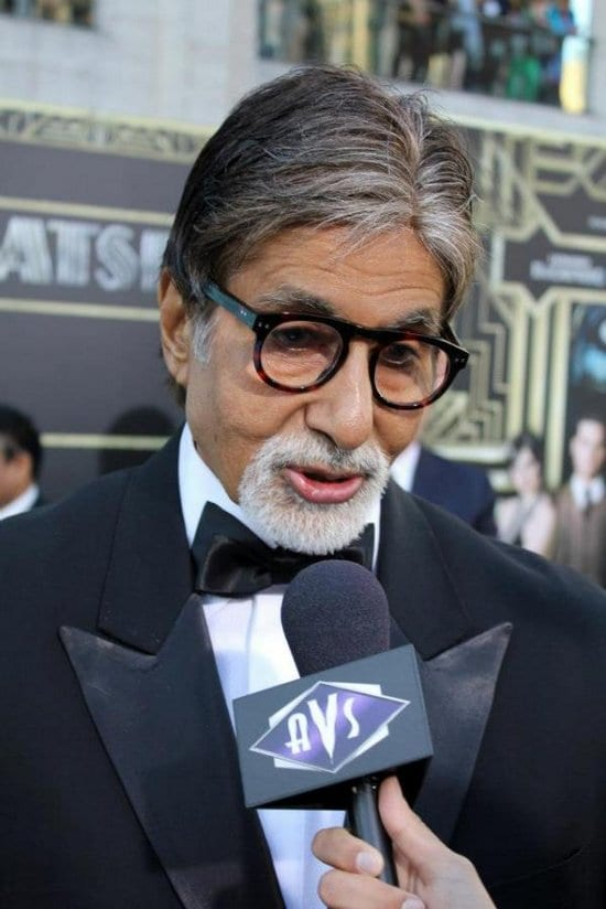 Amitabh Bachchan and Jaya Bachchan at the Great Gatsby Premiere in New York