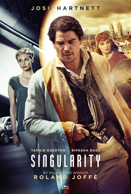 Josh Hartnett, Tamsin Egerton and Bipasha Basu in Singularity