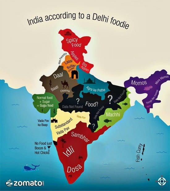 Here's What Delhi People Think of Indian Food!