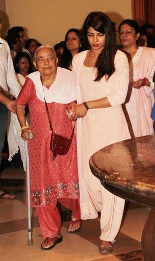 Priyanka Chopra at Priyanka Chopra's Father's Prayer Meet