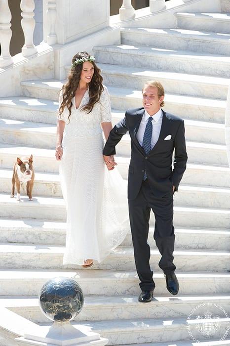 Andrea Casiraghi and Tatiana Santo Domingo Get Married