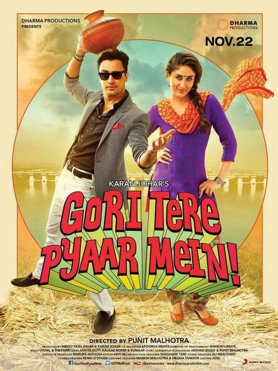 Kareena Kapoor & Imran Khan in Gori Tere Pyaar Mein