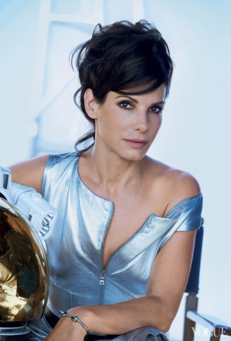 Sandra Bullock on Vogue Magazine