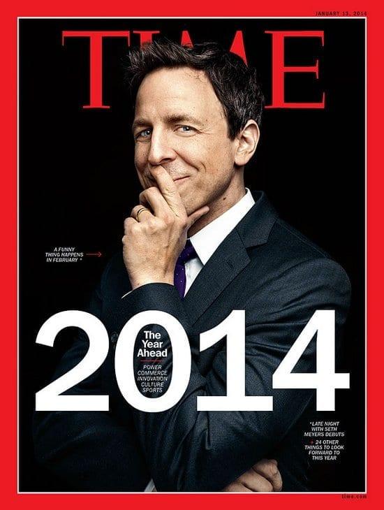 Seth Meyers on Time Magazine