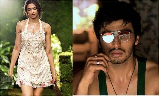Arjun Kapoor and Deepika Padukone in Finding Fanny