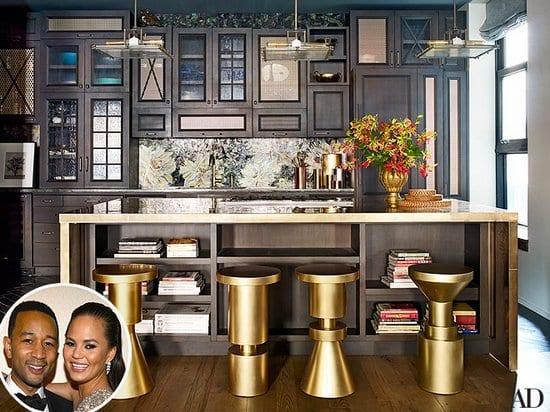 The Kitchen of John Legend and Chrissy Teigen