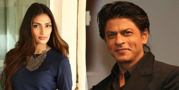 Athiya Shetty on Shah Rukh Khan