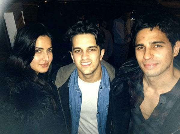 Katrina Kaif and Sidharth Malhotra on the sets of Baar Baar Dekho