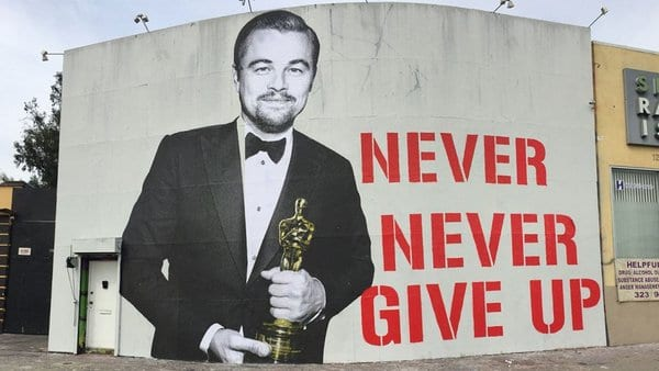Joke of the Day-Leonardo DiCaprio Winning An Oscar