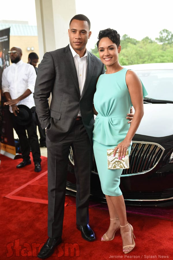 Trai Byers and Grace Gealey Got Married!