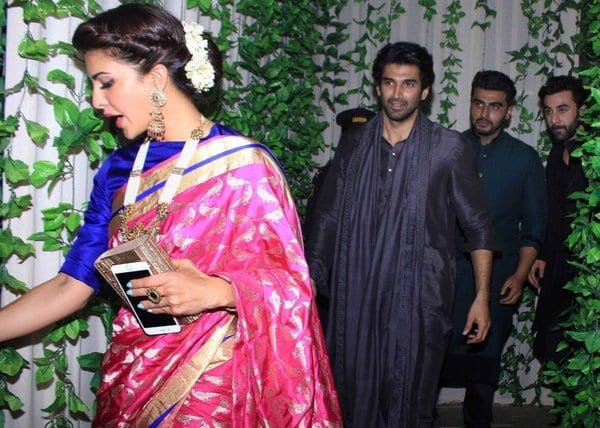 Funny Picture Of The Day- Jacqueline Fernandez, Aditya Roy Kapur, Arjun Kapoor and Ranbir Kapoor