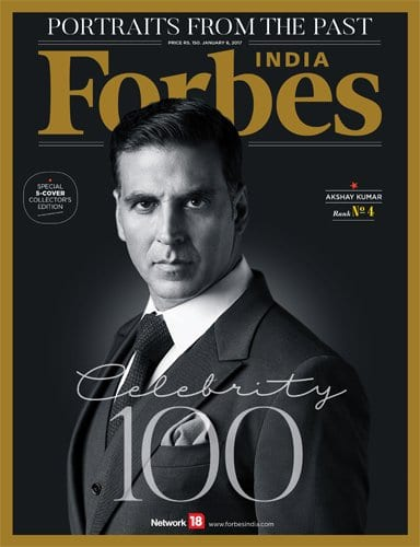 Salman, Shah Rukh, Virat and Priyanka are Forbes Top Celebrities of 2016