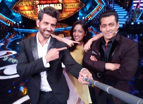 Hrithik Roshan appears on Bigg Boss with Salman Khan and Yami Gautam