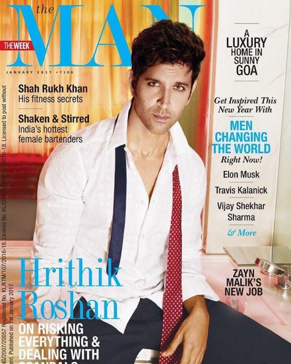 Hrithik Roshan on The Man Magazine