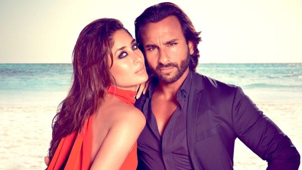 Saif Ali Khan imitates Kareena Kapoor in his first interview after Taimur is born