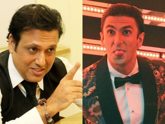 Govinda complains about young actors this time