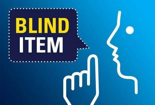 Blind Item – February - Bollywood 3
