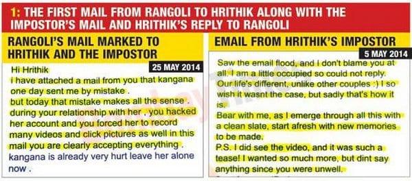 Kangana Ranaut openly spoke about the Hrithik-Kangana drama