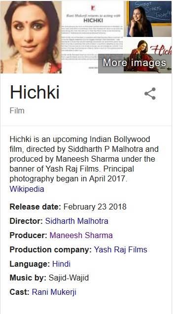 November 2017 – Bollywood Blind Item 6