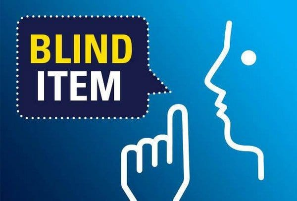 Blind Item – 2017 - Bollywood - December 5