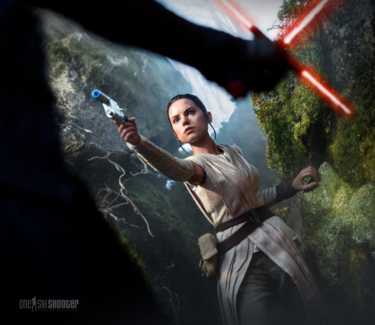 Hot Toys Rey and Kylo Ren
