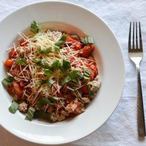 Turkey Spaghetti with Roa...