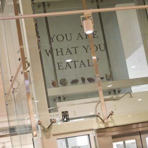 You are what you eataly sign