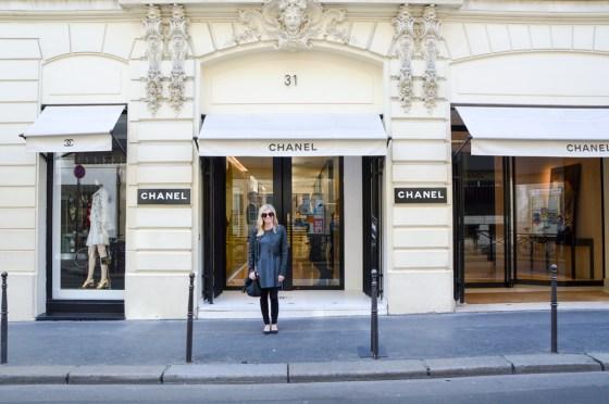 original Chanel store Paris