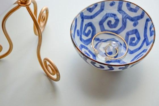 blue geo nesting bowls furbish studio