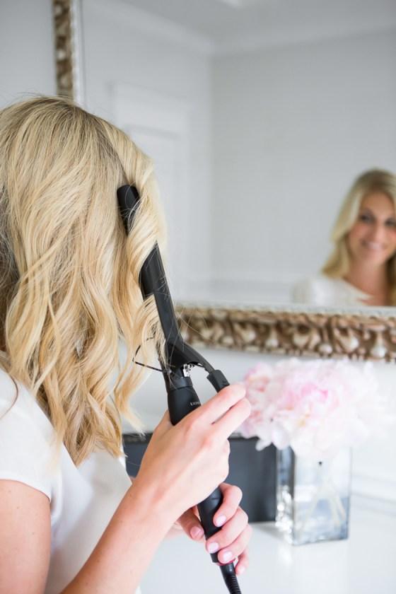 soft curls hair-dallas blogger-1 inch curling iron