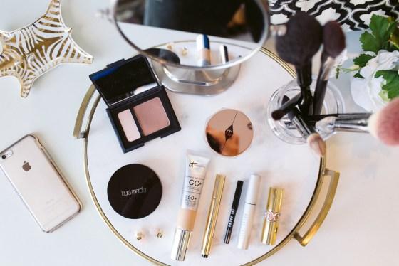 makeup routine oily acne prone skin-beauty blogger dallas