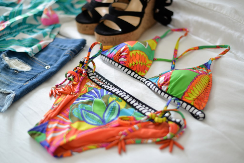 trina turk tropical print bikini