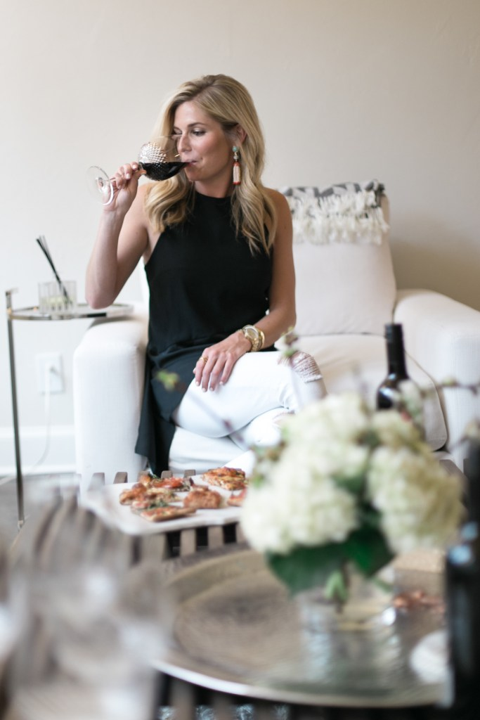 pizza and wine night-speak wines-marble cheese board