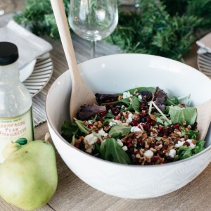 winter berry salad