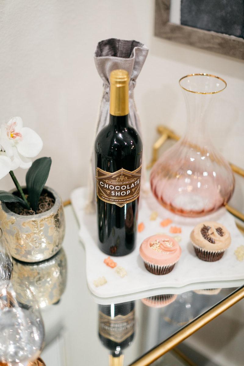 chocolate wine, valentine's day gift for her, where to celebrate valentine's in dallas