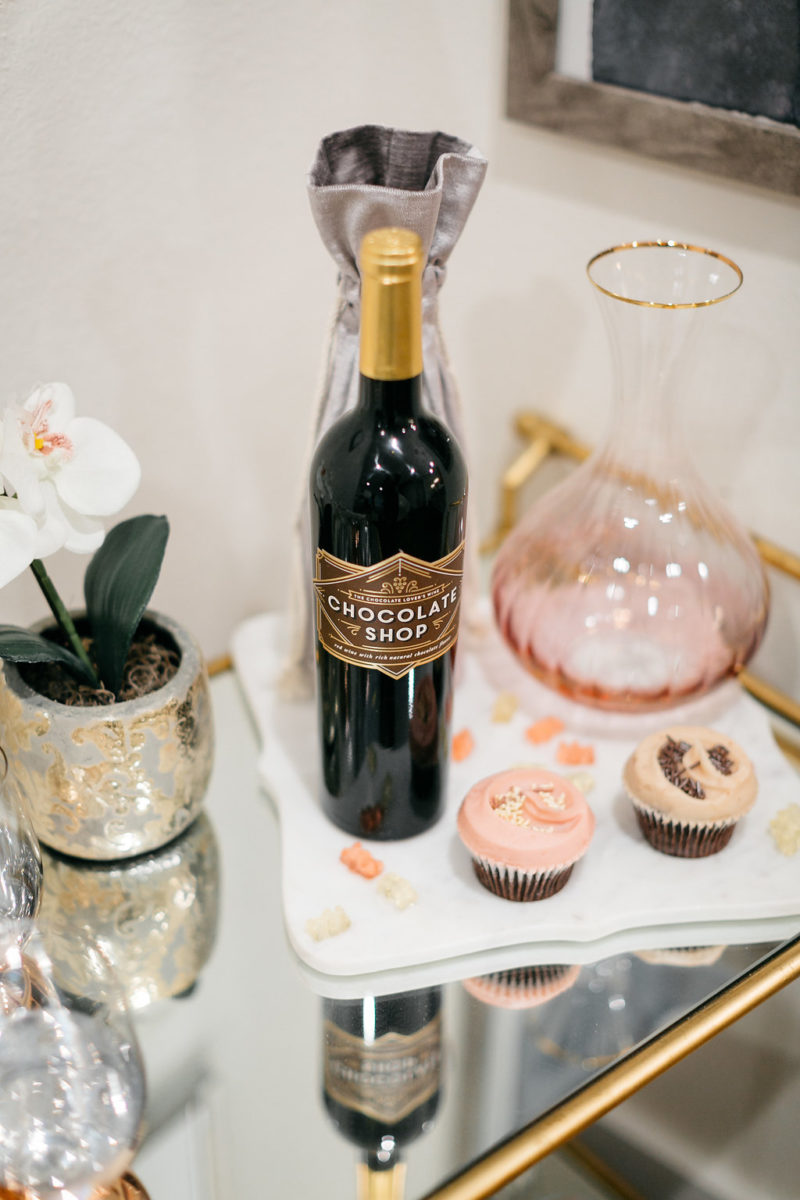 chocolate wine, valentine's day gift for her, where to celebrate valentine's in dallas