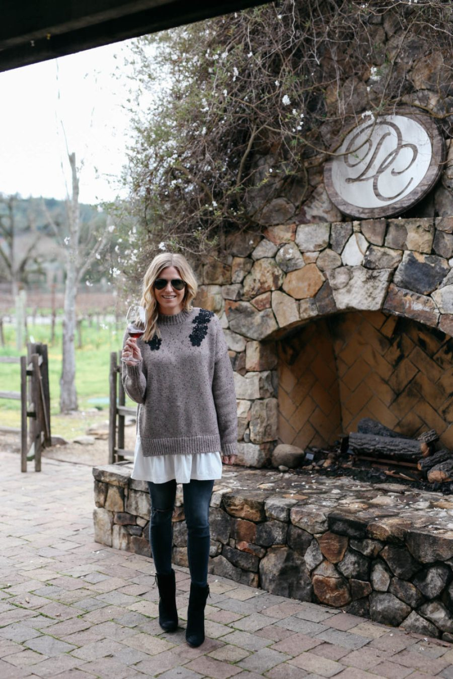 what to wear in wine country, what to pack for wine country, style blogger