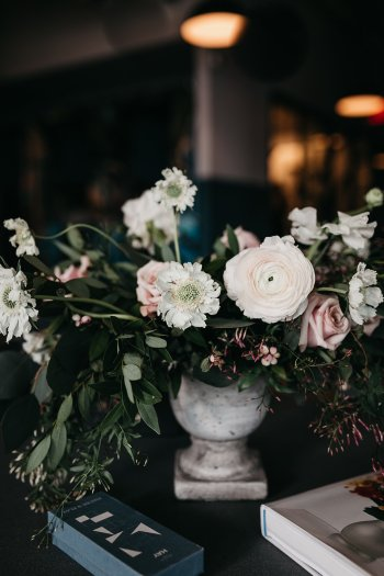 Prim and Lovely floral arrangements