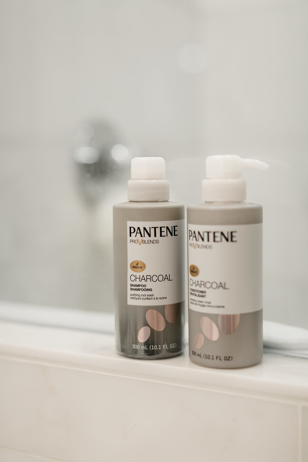 Pantene Charcoal Collection Shampoo and Conditioner - One Small Blonde