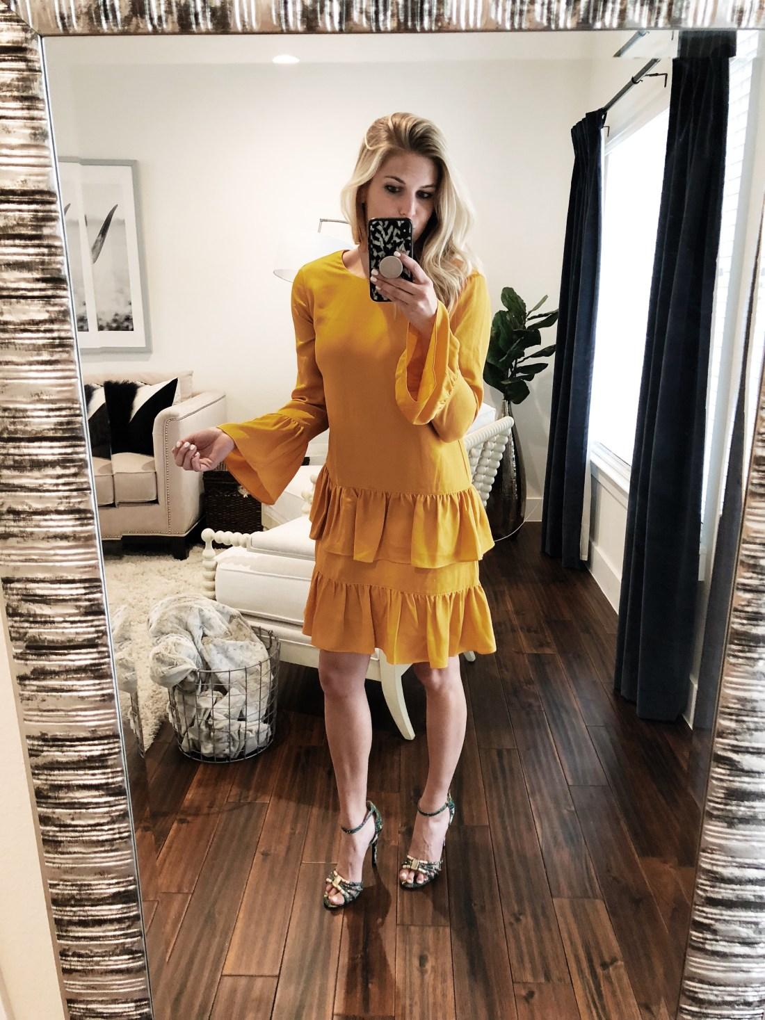 Chelsea 28 Flounce Shift Dress
