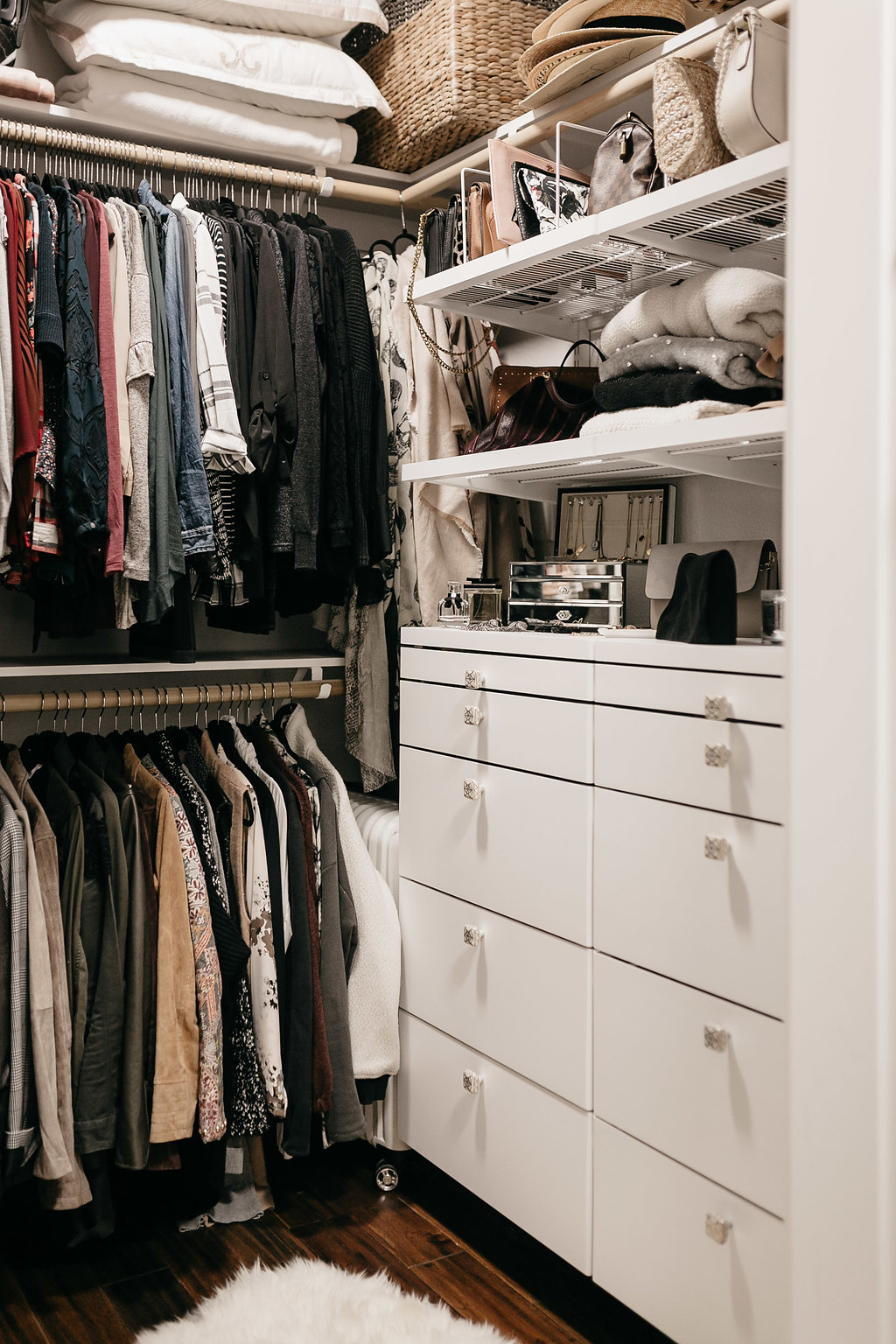CLOSET ORGANIZATION - One Small Blonde