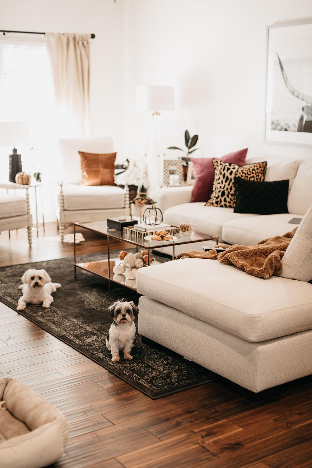 Fall Home Decor One Small Blonde Dallas Fashion Blogger