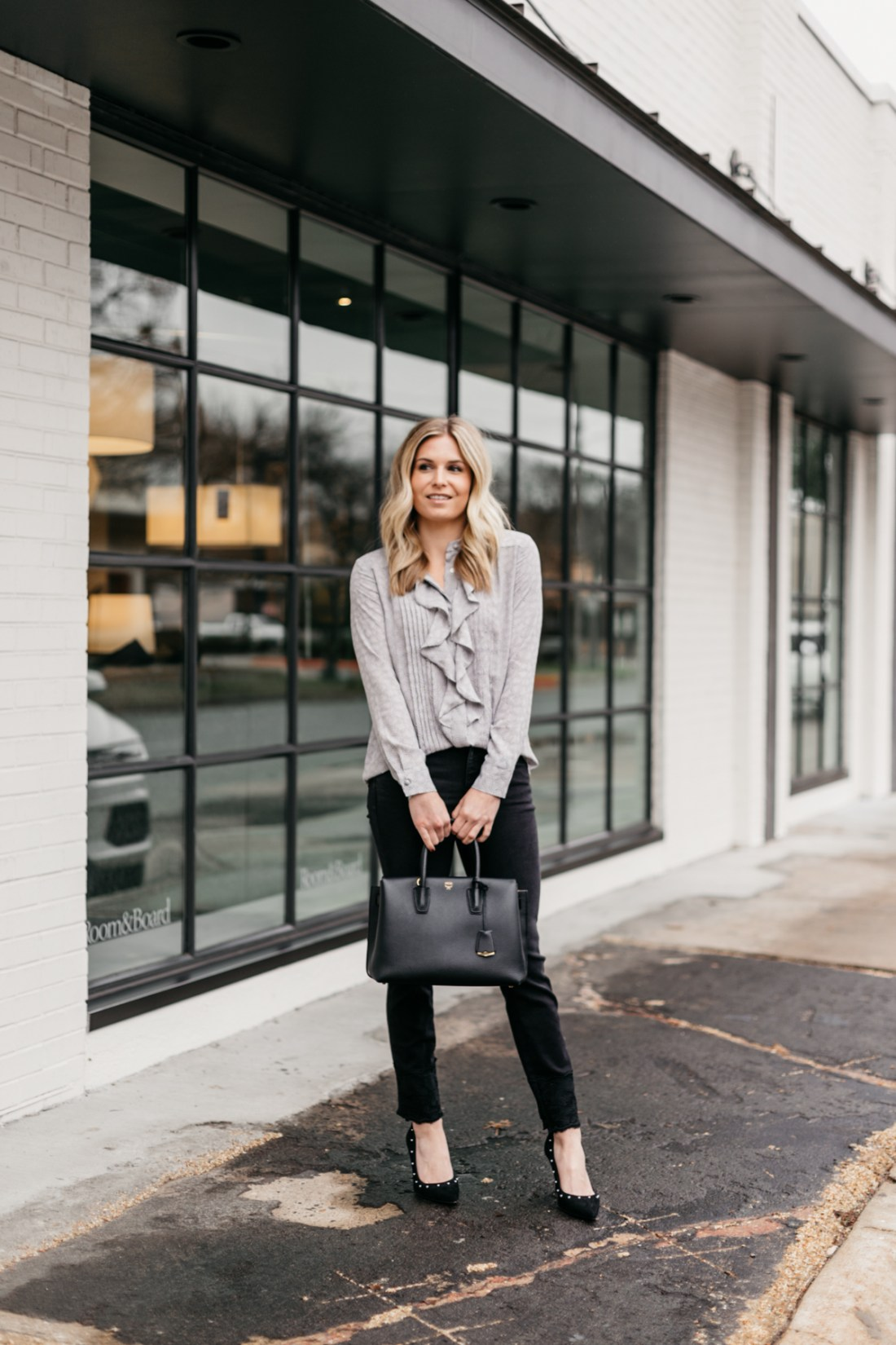 Ann Taylor Outfit - One Small Blonde