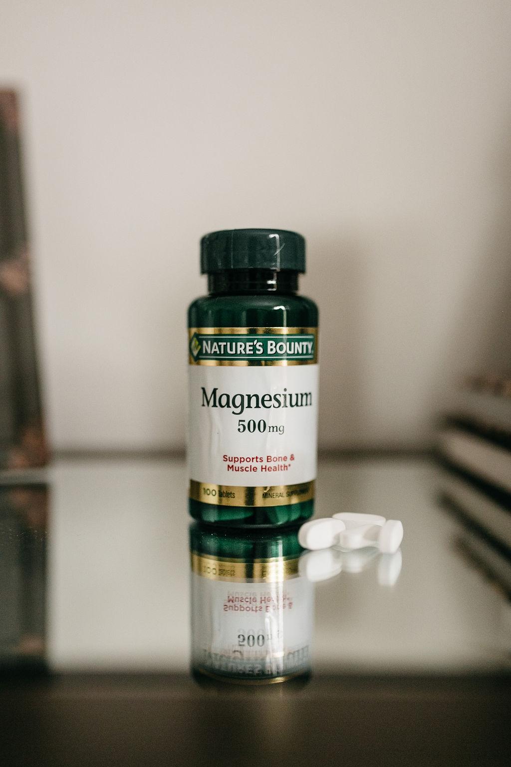 Take magnesium