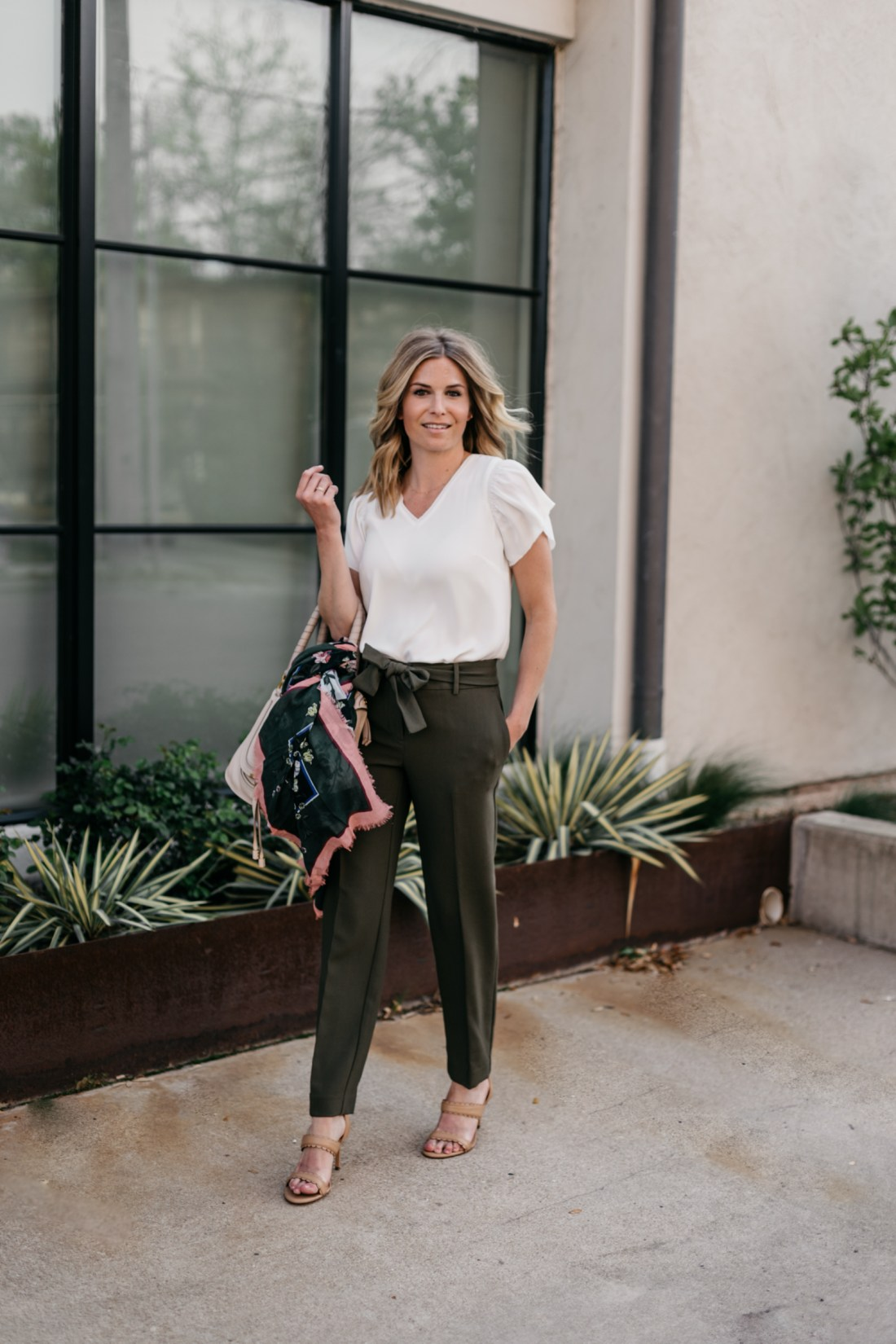 SPRING WORKWEAR OUTFIT - ANN TAYLOR & ONE SMALL BLONDE