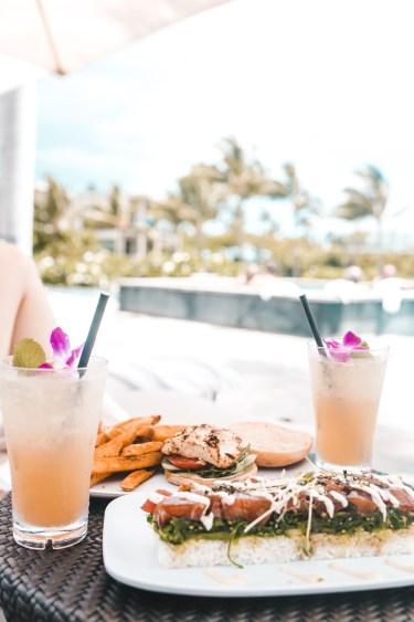 Andaz Hotel -  Hawaiian food