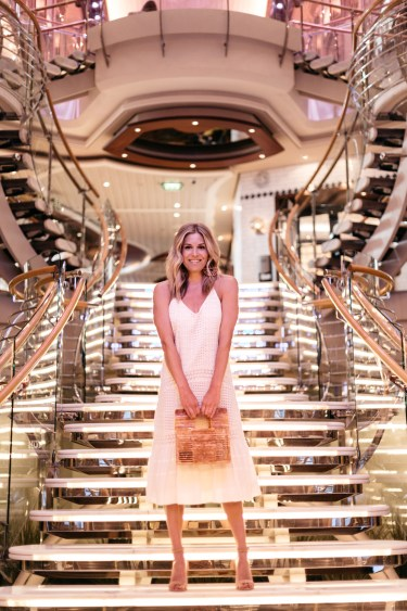 Brooke Burnett and Royal Caribbean Cruise